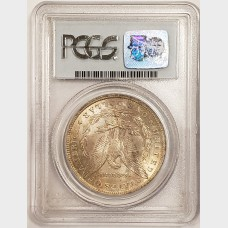 1884-0 Morgan Silver Dollar PCGS MS64