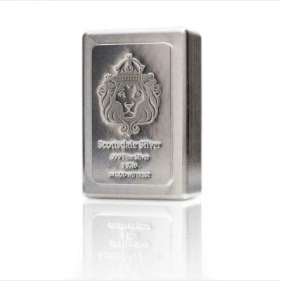 Scottsdale Mint 1 KILO Silver Bar Stacker