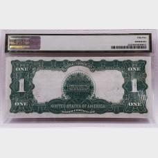 $11899 Black Eagle Silver Certificate Note PMG AU55