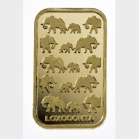 Rand Refinery Gold 1 ozt Bar (w/Assay) OUT OF STOCK