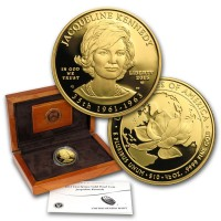 2015 First Spouse 1/2 oz Gold Coin Jacqueline Kennedy