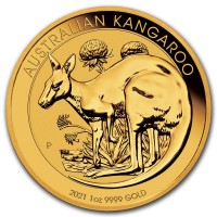 2021 Australia 1 oz Gold Kangaroo BU IN STOCK