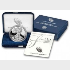 2019 American Eagle 1 ozt Silver Proof Coin