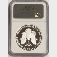 2007 W Silver American Eagle NGC MS69 Ultra Cameo