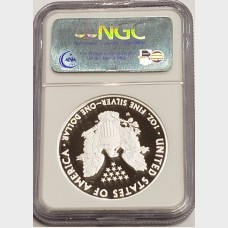 2008 W Silver American Eagle Proof NGC PF70 UCAM