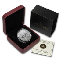 2011 $10 1/2 oz Fine Silver Maple Leaf Forever Coin