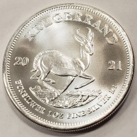 South African Silver Krugerrand (1 ozt) OUT OF STOCK