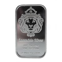 Scottsdale Mint THE ONE (1 ozt) Silver Bar