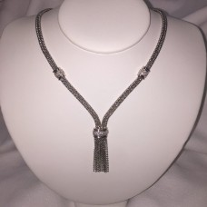 Custom Lariat Style 18kt Necklace