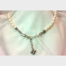 Barbara Bixby Freshwater Cultured Pearl Enhancer Sterling Silver