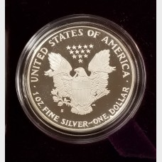1986-S Silver American Eagle 1 Ounce Proof Bullion Coin