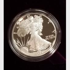 1989-S Silver American Eagle 1 Ounce Proof Bullion Coin