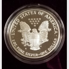 1991-S Silver American Eagle 1 Ounce Proof Bullion Coin