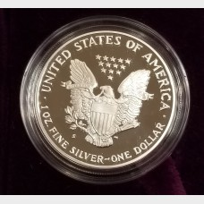 1992-S Silver American Eagle 1 Ounce Proof Bullion Coin