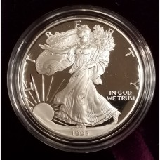 1993-P Silver American Eagle 1 Ounce Proof Bullion Coin