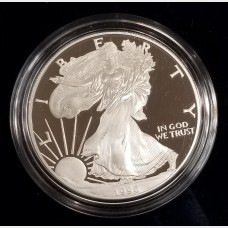 1996-P Silver American Eagle 1 Ounce Proof Bullion Coin