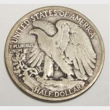 1923-S Walking Liberty Half Dollar VG-08