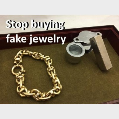 One Way to Check if Your Jewelry is FAKE