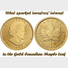 The Gold Bullion Series: Pt 2 Gold Canadian Maple Leaf