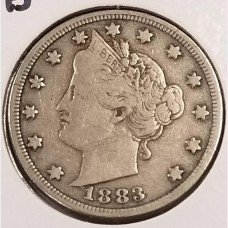 "Liberty ""V"" Nickels in Fine Condition"