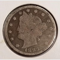 "Liberty Head ""V"" Nickels in AG Condition"