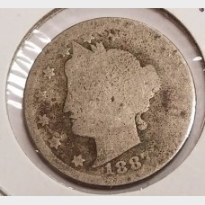 "Liberty Head ""V"" Nickels in Fair Condition"