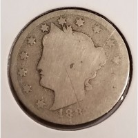 "Liberty Head ""V"" Nickels in Good Condition"