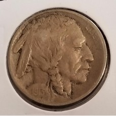 Buffalo Nickels in VF Condition