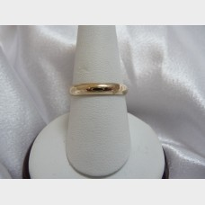 Men's 14K Yellow Gold Band