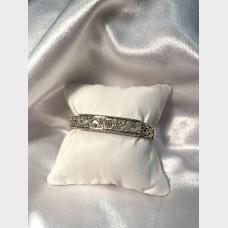 Bali Style Sterling Silver Bracelet