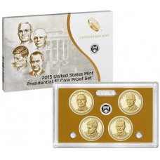 2016 U.S. Mint Presidential One Dollar Coin Proof Set