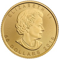Canadian Gold Maple Leaf (1 ozt) IN STOCK