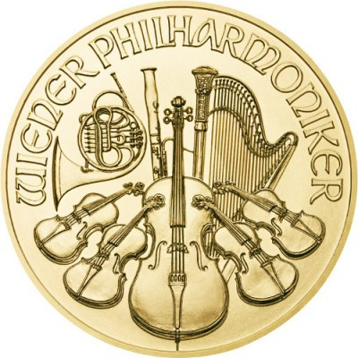 Austrian Gold Vienna Philharmonic (1 ozt) OUT OF STOCK