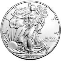 American Silver Eagle (1 ozt) BU IN STOCK