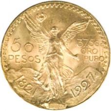 Mexican Gold 50 Peso (Centenario) OUT OF STOCK