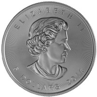 Canadian Silver Maple Leaf (1 ozt) OUT OF STOCK
