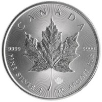 Canadian Silver Maple Leaf (1 ozt) IN STOCK