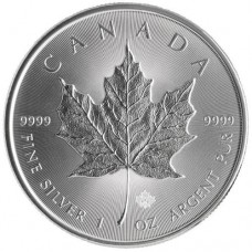 Canadian Silver Maple Leaf (1 ozt)