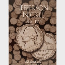 Jefferson Nickel Album 1962-1995
