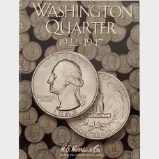 Washington Quarter 1932-1947 Coin Collecting Album