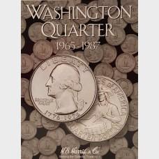 Washington Quarter 1965-1987 Coin Collecting Album