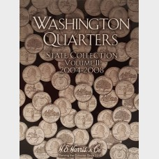 Washington State Quarters 2004-2008 Vol II Coin Album