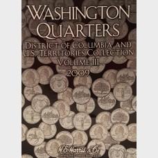 Washington Quarters D.C. & U.S. Territories 2009 Vol III Album