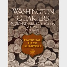 Washington Quarters National Park Vol I 2010-2015 Album