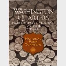 Washington Quarters National Park Vol II 2016-2021 Album