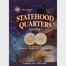 Whitman Statehood Quarters Complete Set Folder 1999-2009
