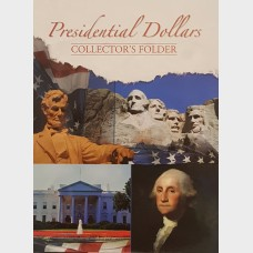 Presidential Dollars Collector's Folder Volume I