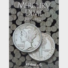 Whitman Mercury Dime Collection Album 1916-1945