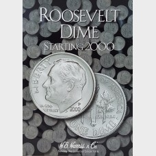 Whitman Roosevelt Dime Starting 2000 Collection Album