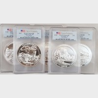 2010 America The Beautiful 5-Coin Set PCGS First Strike